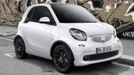 smart fortwo coupé edition white